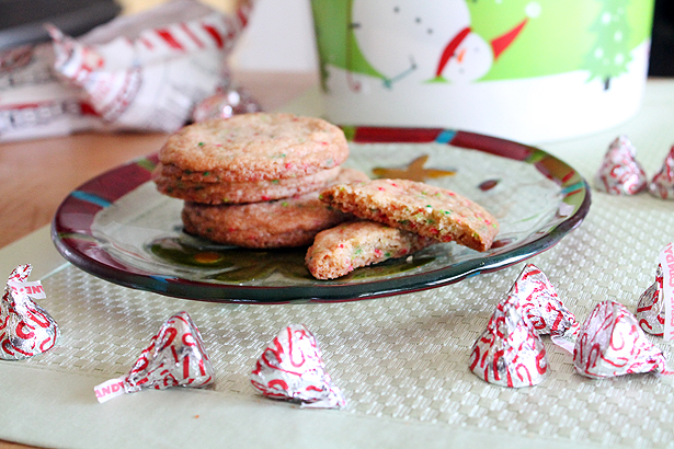 Chocolate Kiss Surprise Cookies Recipe
