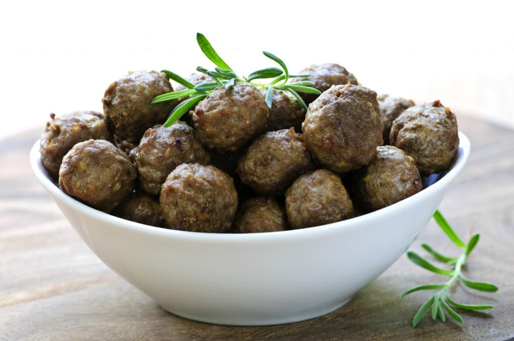 Sous Vide Paleo Meatballs